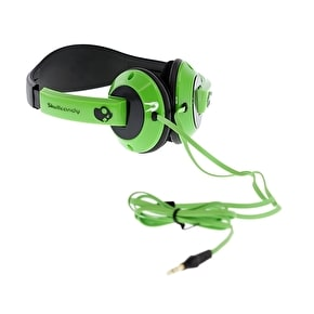 Skull Candy Uprock Headphones - Green